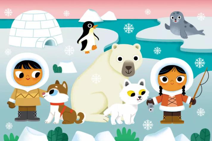 В Арктике дети счастливее